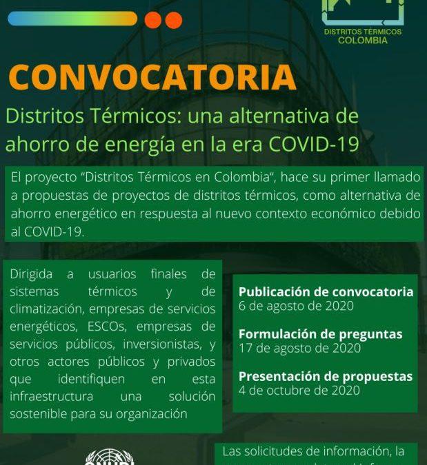 Distritos Térmicos como solución energética en la era pos pandemia