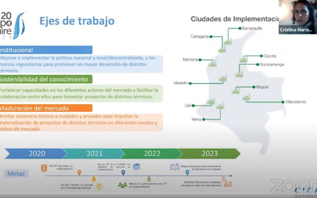 Así avanzan los distritos térmicos en las ciudades colombianas