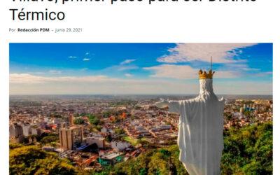 Villavo, primer paso para ser Distrito Térmico