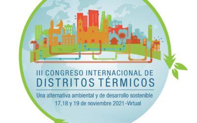 Lo invitamos al III Congreso Internacional De Distritos Térmicos